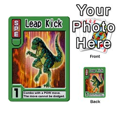 Monster Rancher Deck 2 By Joe Rowland Hotmail Co Uk   Multi Purpose Cards (rectangle)   4vad7mi6u22p   Www Artscow Com Front 34
