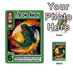 Monster Rancher Deck 2 By Joe Rowland Hotmail Co Uk   Multi Purpose Cards (rectangle)   4vad7mi6u22p   Www Artscow Com Front 38
