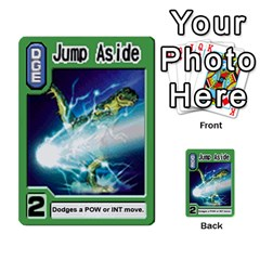 Monster Rancher Deck 2 By Joe Rowland Hotmail Co Uk   Multi Purpose Cards (rectangle)   4vad7mi6u22p   Www Artscow Com Front 45