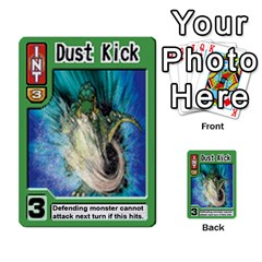 Monster Rancher Deck 2 By Joe Rowland Hotmail Co Uk   Multi Purpose Cards (rectangle)   4vad7mi6u22p   Www Artscow Com Front 49