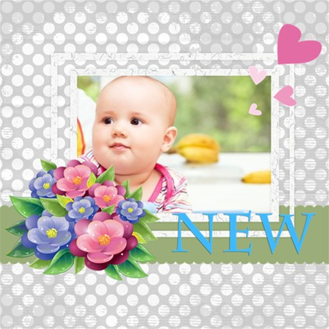 Baby By Joely   Scrapbook Page 12  X 12    Q9g2ygg22ljd   Www Artscow Com 12 x12 Scrapbook Page - 1