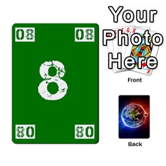 Ace Numbers Deck   Green(all) Blue(all) Red(20 9)   Textless Poker Deck By Mike   Playing Cards 54 Designs   6z9vft9ly26p   Www Artscow Com Front - SpadeA