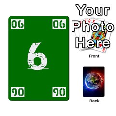 Numbers Deck   Green(all) Blue(all) Red(20 9)   Textless Poker Deck By Mike   Playing Cards 54 Designs   6z9vft9ly26p   Www Artscow Com Front - Heart3