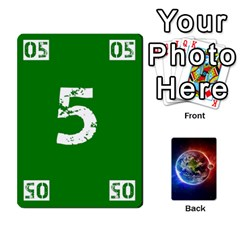 Numbers Deck   Green(all) Blue(all) Red(20 9)   Textless Poker Deck By Mike   Playing Cards 54 Designs   6z9vft9ly26p   Www Artscow Com Front - Heart4