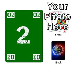 Numbers Deck   Green(all) Blue(all) Red(20 9)   Textless Poker Deck By Mike   Playing Cards 54 Designs   6z9vft9ly26p   Www Artscow Com Front - Heart7