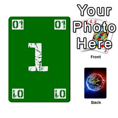 Numbers Deck   Green(all) Blue(all) Red(20 9)   Textless Poker Deck By Mike   Playing Cards 54 Designs   6z9vft9ly26p   Www Artscow Com Front - Heart8