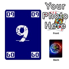 Numbers Deck   Green(all) Blue(all) Red(20 9)   Textless Poker Deck By Mike   Playing Cards 54 Designs   6z9vft9ly26p   Www Artscow Com Front - Diamond8