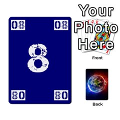 Numbers Deck   Green(all) Blue(all) Red(20 9)   Textless Poker Deck By Mike   Playing Cards 54 Designs   6z9vft9ly26p   Www Artscow Com Front - Diamond9
