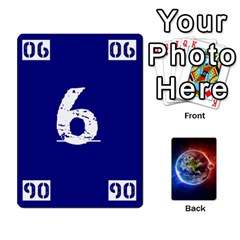 Jack Numbers Deck   Green(all) Blue(all) Red(20 9)   Textless Poker Deck By Mike   Playing Cards 54 Designs   6z9vft9ly26p   Www Artscow Com Front - DiamondJ