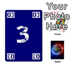 Ace Numbers Deck   Green(all) Blue(all) Red(20 9)   Textless Poker Deck By Mike   Playing Cards 54 Designs   6z9vft9ly26p   Www Artscow Com Front - DiamondA