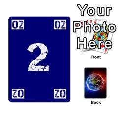 Numbers Deck   Green(all) Blue(all) Red(20 9)   Textless Poker Deck By Mike   Playing Cards 54 Designs   6z9vft9ly26p   Www Artscow Com Front - Club2