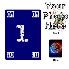Numbers Deck   Green(all) Blue(all) Red(20 9)   Textless Poker Deck By Mike   Playing Cards 54 Designs   6z9vft9ly26p   Www Artscow Com Front - Club3