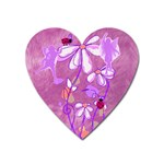 Magic fairy garden Magnet - Magnet (Heart)