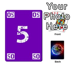 Numbers Deck   Purple(all) Orange(all) Red(8 0)   Textless Poker Deck By Mike   Playing Cards 54 Designs   Rdlhl25klzyq   Www Artscow Com Front - Heart4