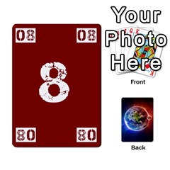 Numbers Deck   Purple(all) Orange(all) Red(8 0)   Textless Poker Deck By Mike   Playing Cards 54 Designs   Rdlhl25klzyq   Www Artscow Com Front - Club5