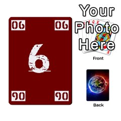 Numbers Deck   Purple(all) Orange(all) Red(8 0)   Textless Poker Deck By Mike   Playing Cards 54 Designs   Rdlhl25klzyq   Www Artscow Com Front - Club7