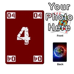 Numbers Deck   Purple(all) Orange(all) Red(8 0)   Textless Poker Deck By Mike   Playing Cards 54 Designs   Rdlhl25klzyq   Www Artscow Com Front - Club9