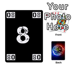 Ace Numbers Deck   Black(all) Pink(all) Zeros   Textless Poker Deck By Mike   Playing Cards 54 Designs   851ofn3gsxte   Www Artscow Com Front - SpadeA