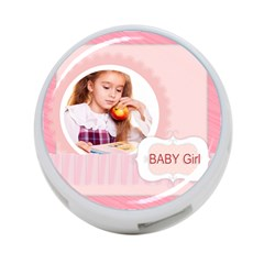 Baby Girl By Joely   4 Port Usb Hub (two Sides)   Hchhkse9pccv   Www Artscow Com Front