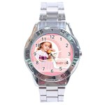 baby girl - Stainless Steel Analogue Watch