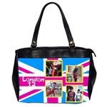 Our London 12 Oversize Office Bag (2 sided) - Oversize Office Handbag (2 Sides)
