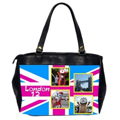 Our London 12 Oversize Office Bag (2 sided) by Deborah Back