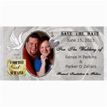save the date  - 4  x 8  Photo Cards