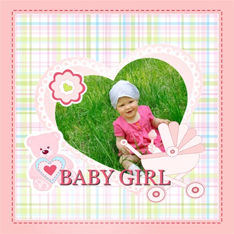 Baby By Jacob   Scrapbook Page 12  X 12    4hq56kdoszxj   Www Artscow Com 12 x12 Scrapbook Page - 1
