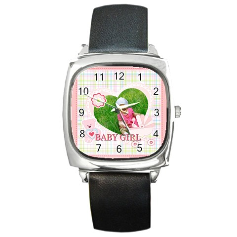 Baby By Jacob   Square Metal Watch   Socgosm7uv7j   Www Artscow Com Front