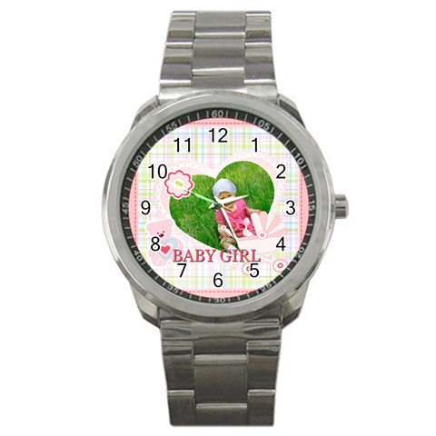 Baby By Jacob   Sport Metal Watch   Mta6hqvuxxwy   Www Artscow Com Front