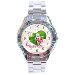 baby - Stainless Steel Analogue Men's Watch