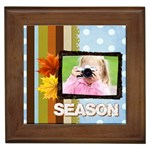 season - Framed Tile
