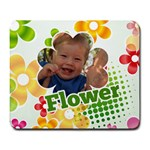 flower - Large Mousepad