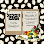 Chicken Gravy Recipe - ScrapBook Page 12  x 12