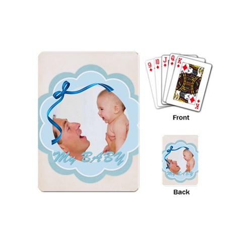 Baby By Joely   Playing Cards (mini)   Le7tttnirhq5   Www Artscow Com Back