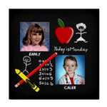 School Chalkboard Tile Coaster
