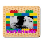 best friends - Large Mousepad
