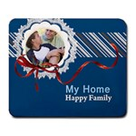 my family - Large Mousepad