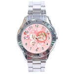 love - Stainless Steel Analogue Watch
