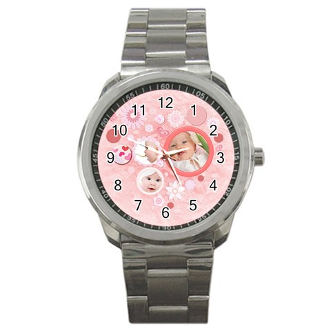 Love By Doggie   Sport Metal Watch   F86m4h93k9bo   Www Artscow Com Front