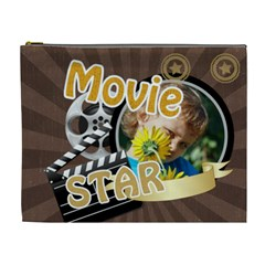 Movie Star By M Jan   Cosmetic Bag (xl)   7fblkrs2cq3n   Www Artscow Com Front