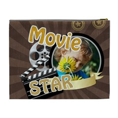 Movie Star By M Jan   Cosmetic Bag (xl)   7fblkrs2cq3n   Www Artscow Com Back