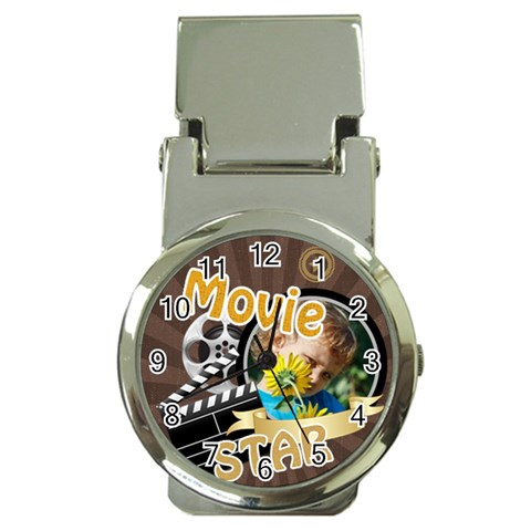 Movie Star By M Jan   Money Clip Watch   14ci34vxgypj   Www Artscow Com Front