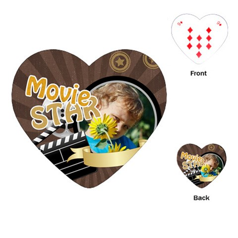 Kids By M Jan   Playing Cards (heart)   Nafoz8k2crvm   Www Artscow Com Front