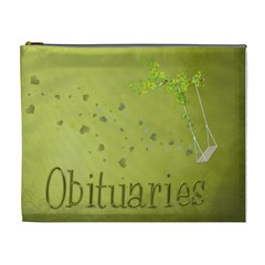 Obits By Sue    Cosmetic Bag (xl)   85vegxumu3sw   Www Artscow Com Front