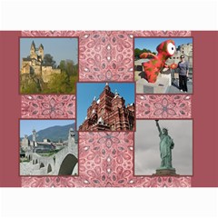 Shades Of Red (8,5x6) Any Year Wall Calendar By Deborah   Wall Calendar 8 5  X 6    1pua4sk4h7y6   Www Artscow Com Month