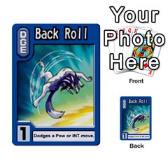 Monster Rancher 3 By Joe Rowland Hotmail Co Uk   Multi Purpose Cards (rectangle)   T3ubym29zdmi   Www Artscow Com Front 6