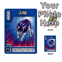 Monster Rancher 3 By Joe Rowland Hotmail Co Uk   Multi Purpose Cards (rectangle)   T3ubym29zdmi   Www Artscow Com Front 7
