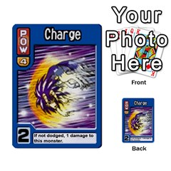 Monster Rancher 3 By Joe Rowland Hotmail Co Uk   Multi Purpose Cards (rectangle)   T3ubym29zdmi   Www Artscow Com Front 3