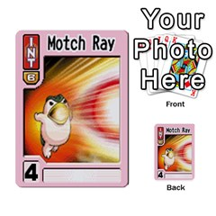 Monster Rancher 3 By Joe Rowland Hotmail Co Uk   Multi Purpose Cards (rectangle)   T3ubym29zdmi   Www Artscow Com Front 30